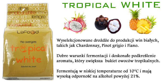 LAFOOD TROPICAL WHITE