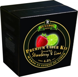 BULLDOG CIDER STRAWBERRY & LIME 3,0KG