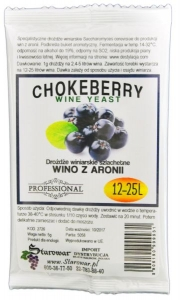 OUTLET - WINE YEAST CHOKEBERRY - Drożdże winiarskie do wina z aronii