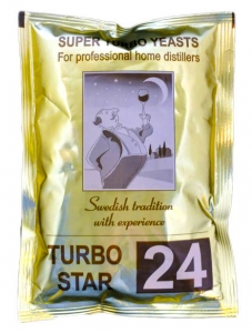 TURBO STAR 24 + BENTONIT 30G / 100SZT