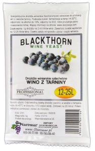 OUTLET - WINE YEAST BLACKTHORN - Drożdże winiarskie do wina z tarniny