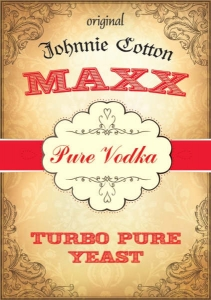 MAXX VODKA TURBO PURE / 25SZT