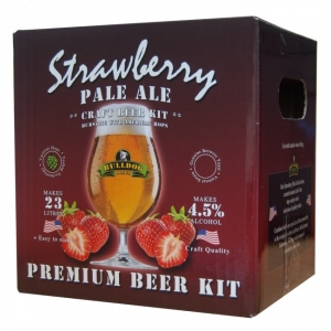 BULLDOG BEER KIT PALE ALE STRAWBERY